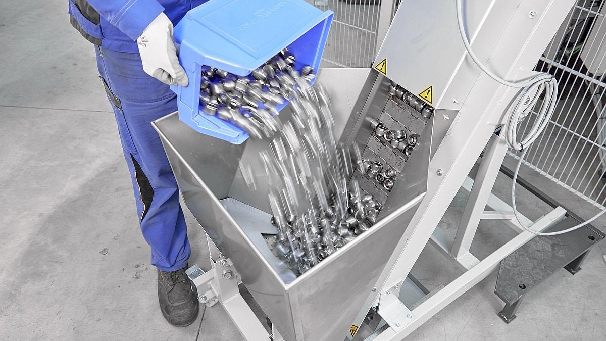 Stabilisator Stabi zufuehrtechnik automatisch Ideal-Werk VPS 1052
