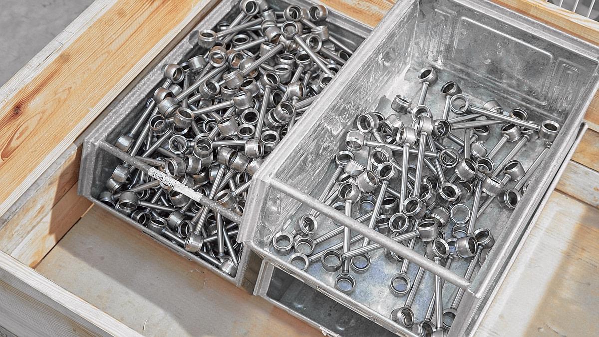 Bauteil Ausschleusung Schrottbox Ideal-Werk VPS 1052